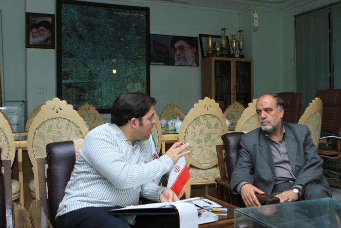 مصاحبه با فرماندار تربت حیدریه که همیشه پاسخگوی سئوالات رسانه هاست